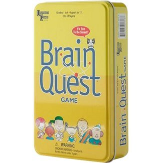 Brain Quest Travel Card Game (Social Studies Brain Quest compare prices)