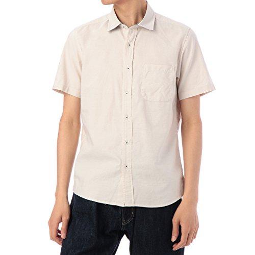 (ボイコット)BOYCOTT ギンガム切り替えカジュアルシャツ ベージュ系(053) 04(LL)