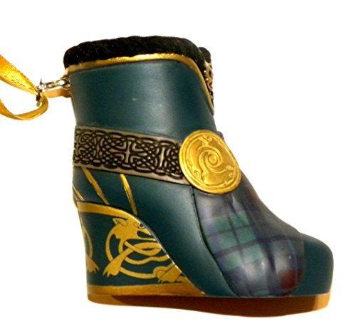 Disney World WDW Park 2015 Runway Princess Merida Brave Boot Shoe Slipper Christmas Ornament by Disney