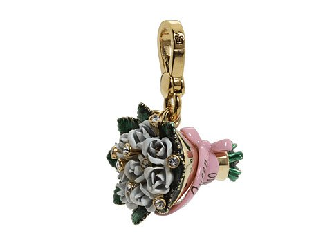 Juicy Couture Ltd Ed Prom Queen Flowers Gold Charm