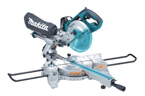 Makita LXSL01 18V LXT Lithium-Ion Cordless 7-1/2 Inch Dual Slide Compound Miter Saw Kit
