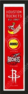 Heritage Banner Of Houston Rockets-Framed Awesome & Beautiful-Must For A... by Art and More, Davenport, IA