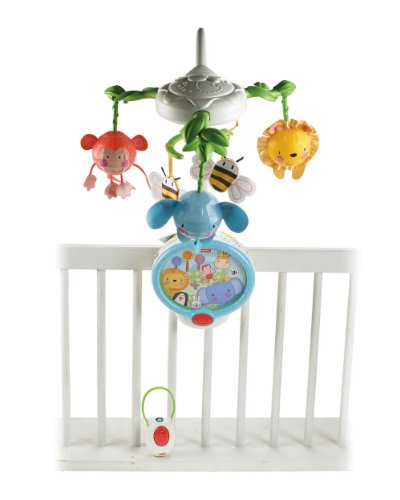 Fisher-Price Discover 'n Grow Twinkling Lights Projector Mobile - 1