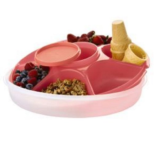 Tupperware Serving Center Set