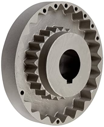 Martin Quadra-Flex Coupling Flange, Cast Iron, Inch