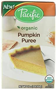 Pacific Natural Foods Organic Pumpkin Puree, 16 Ounce (Pack of 12)