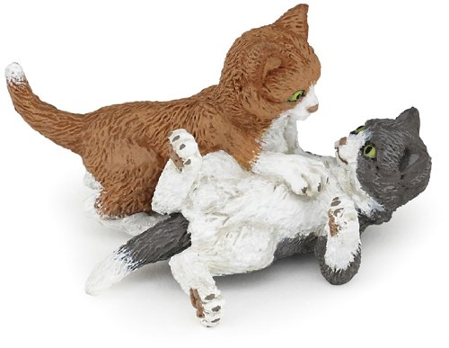 Papo Kittens Playing Toy Figure
