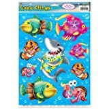 Luau Clings Party Accessory (1 count) (9/Sh)