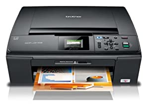 Brother MFCJ265W - MFC-J265W Wireless All-in-One Inkjet Printer, Copy/Fax/Print/Scan