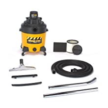 Shop-Vac 6101210 12-Gallon 2-Peak HP 2-Stage Contractor Wet/Dry Vacuum