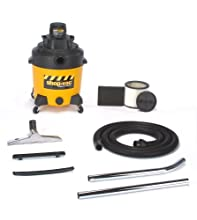 Shop-Vac 6101210 12-Gallon 2-Peak HP 2-Stage Contractor Wet Dry Vacuum