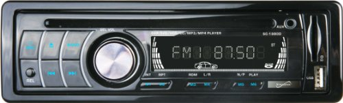 Supersonic Sc1980D 4.3-Inch Lcd Digital Display Car Receiver