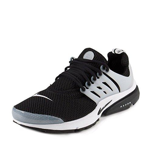 Nike Mens Air Presto Black/Black-White Grey Fabric Size 13 (Nike Presto Size 13 compare prices)