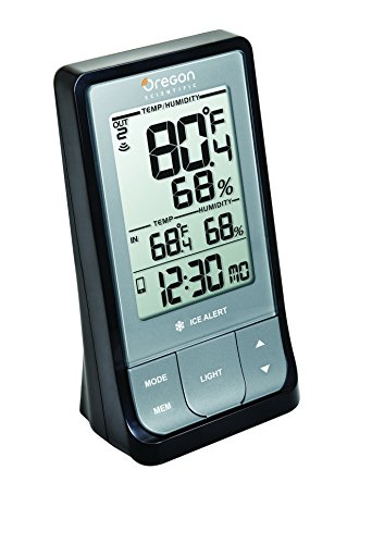 Oregon Scientific RAR213HG WeatheratHome Wireless Weather Station with Thermometer