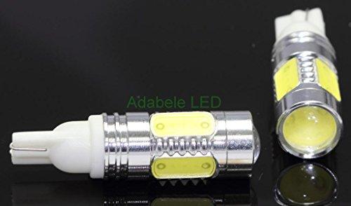 New T10 Samsung 11W Led White Super Bright Car Light Bulb 194 168 2825 W5W L69 @ 147, 152, 158, 159, 161, 168, 184, 192, 193, 194 2880 Compare To Sylvania Osram Phillips