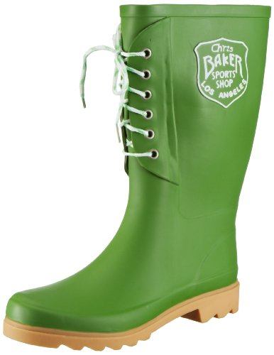 Beck Fashion Rubber Boots Women green Grün (grün 22) Size: 8 (42 EU)