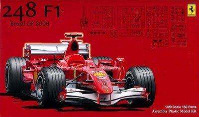1/20 グランプリSP6 フェラーリ248F1 ブラジルGP スケルトンボディー