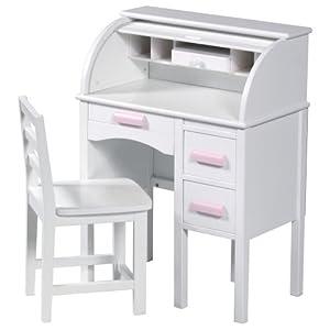 Guidecraft Jr Roll-top Desk Design Light Oak by Guidecraft