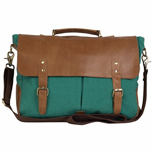 The House Of Tara Leather and Canvas Laptop and Office Bag image - Kerala Online Shopping