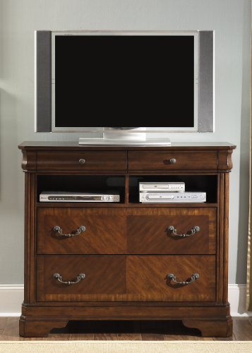 Liberty Furniture 722-BR45 Alexandria Media Chest, 46