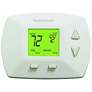 Honeywell RTH5100B 1025 Deluxe Manual Thermostat