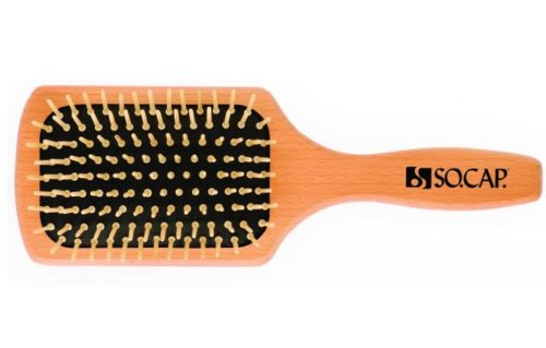 Small Size Paddle Brush, SHE by SOCAP.USA, Made in Italy (Socap Hair Brush compare prices)