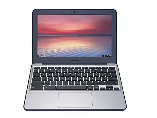 ASUS Chromebook C202SA-YS02 11.6-Inch (Intel Celeron 4 GB, 16GB eMMC, Dark Blue)