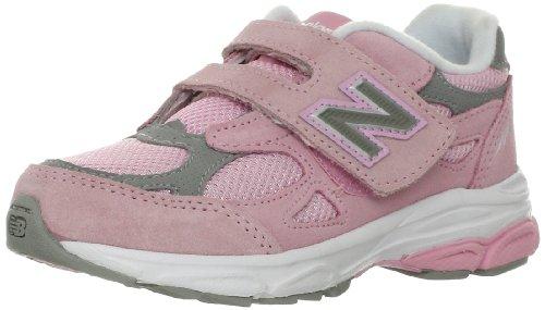 New Balance KV990 Pre Running Shoe (Little Kid),Pink/Grey,1 M US Little Kid