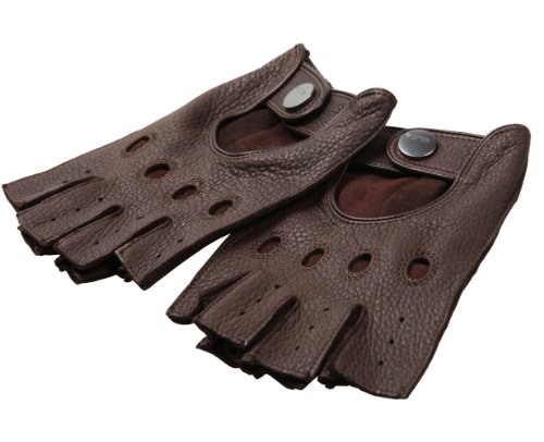 deerskin-cuir-mitaines-half-finger-elma-hommes-conduite-gants-sans-doublure-85-brun