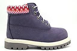 [6IN PRM BT INF-9585R] TIMBERLAND 6INCH CLASSIC CONTRUCTION BOOT INFANTS BOOTS TIMBERLANDPURPLE MVEM