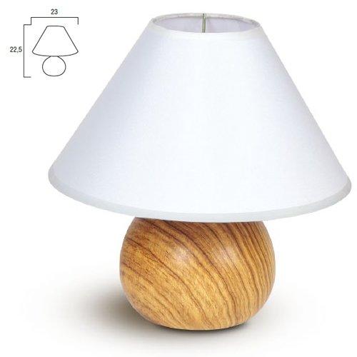 Lampada da tavolo moderno lume in ceramica comodino 23x22