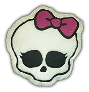 Mattel's Monster High Glam Skullette Cuddle Pillow, 16 by 15-Inch