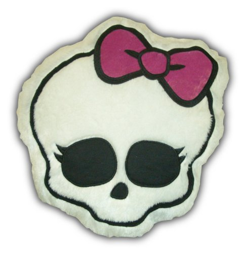 Sale!! Mattel's Monster High Glam Skullette Cuddle Pillow, 16 by 15-Inch