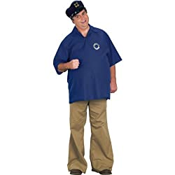 FunWorld Skipper Costume, Blue, One size