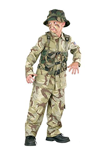 Marine Military Delta Force Child Halloween Costume