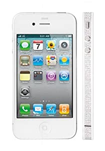 Apple iPhone 4S 32GB - Pearl White - Platinum & Diamonds