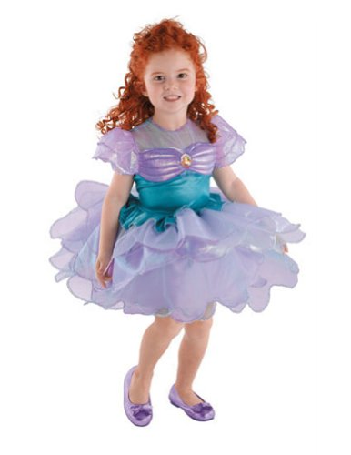 Baby-Toddler-Costume Ariel Ballerina Toddler Costume 2T Halloween Costume