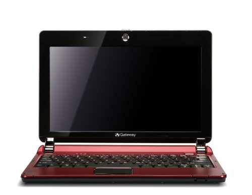 Gateway Lt2030U 10.1-Inch Red Netbook - Over 7 Hours Of Battery Life (Windows 7 Starter)