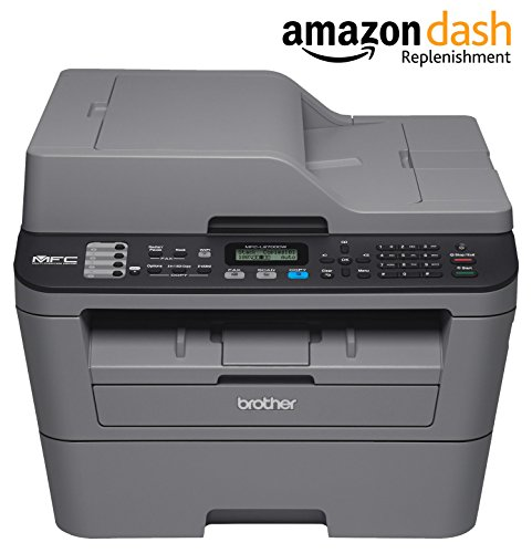 Brother MFCL2700DW Compact Laser All-In One Printer with Wireless Networking and Duplex Printing