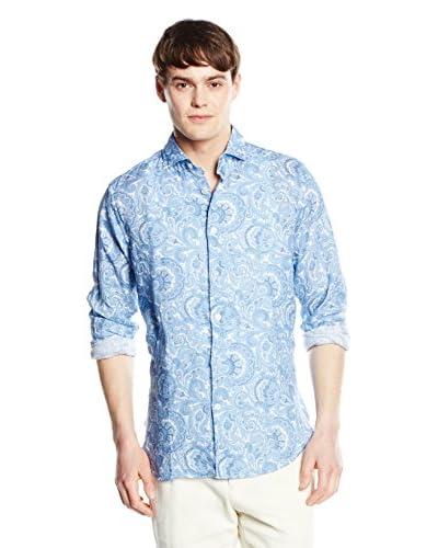 RODA Camisa Hombre Azul