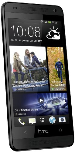 HTC One Mini Smartphone (10,9 cm (4,3 Zoll) LCD-Display, 1,4GHz, Dual-Core, 1GB RAM, Ultrapixel Kamera, Android 4.2) schwarz