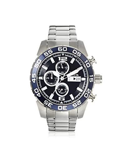 Invicta Men's 1013 Specialty Chronograph Silver/Blue Stainless Steel Watch