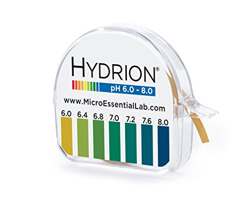 Micro  Essential LABS pHYDRION Vivid pH  Paper 6-8 pH 15 FT Roll Wth Color Chart  10 Pack (Micro Essential Laboratory Inc compare prices)