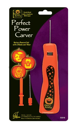 The Perfect Pumpkin Power Carver