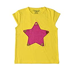Maaron Yellow Star T-shirt (3-4 Years)