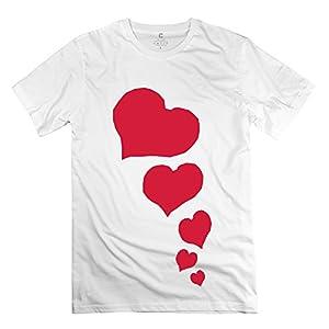 Classic Hearts Small Big Men's T-Shirt - Pre-cotton T-Shirt