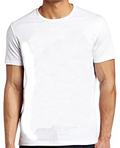 Jack & Danny's Men's Premier Plain White T Shirt - Pack of 5 White S-XXL