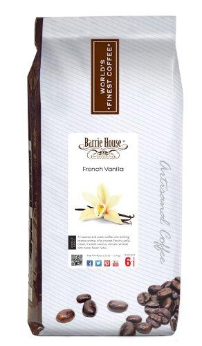Barrie House French Vanilla Coffee, Whole Bean 40 oz. (2.5 lb.) Bag