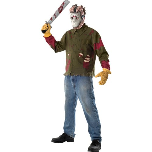 Friday The 13Th Jason Voorhees Adult Costume Size: Standard (Up To Size 44)