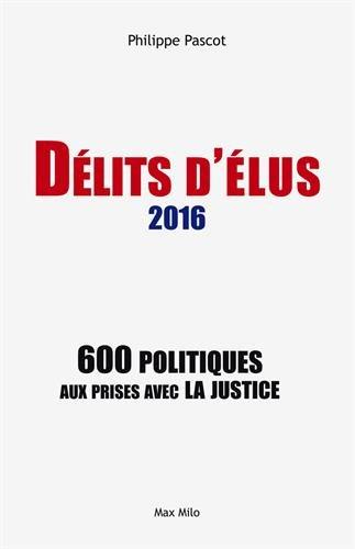 Délits d'élus 2016